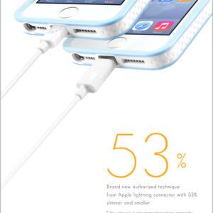 Innowatt® Round Lightning Cable – Extra Long 2m, 8 pin